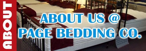 About us at Page Bedding Co.